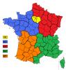 indicatifs téléphoniques France métropolitaine