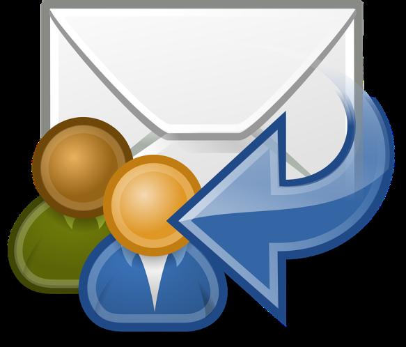 courriels échangés entre collègues