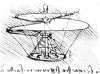 hélicoptère par de Vinci
