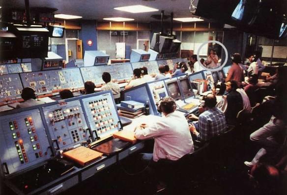 coordinateur dans la salle de contrôle