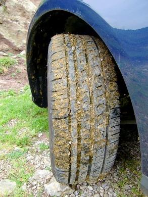 Bouse sur pneu