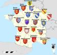 France Régions et blasons