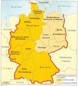 Allemagne Ouest et Est
