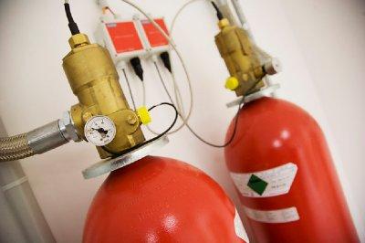 gaz anti-incendie