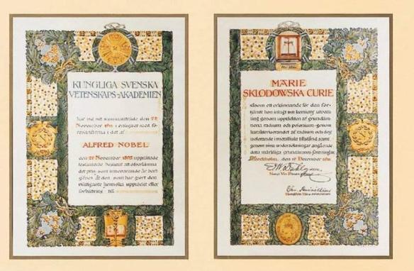 Prix Nobel Marie Curie