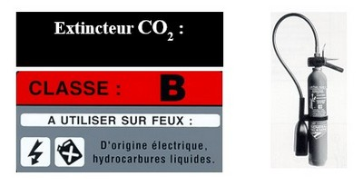 extincteur CO2