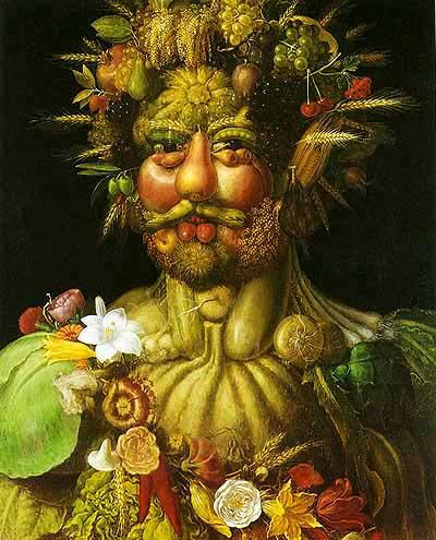 archimbolde portrait légumes