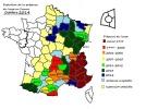 présence du loup en France en 2014