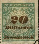 1923 - 20 milliards pour un timbre