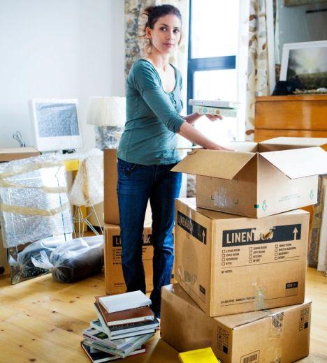 faire ses cartons pour déménager