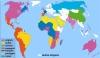 carte des langues au monde