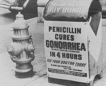 publicité pour le traitement contre la blennoragie ou gonorhée