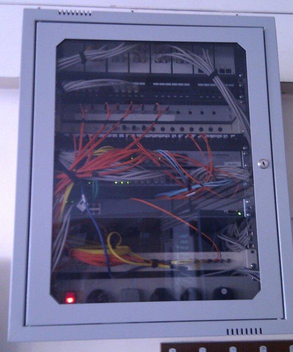 armoire fibre optique