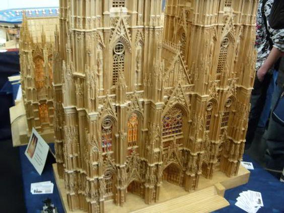 maquette d'une cathédrale