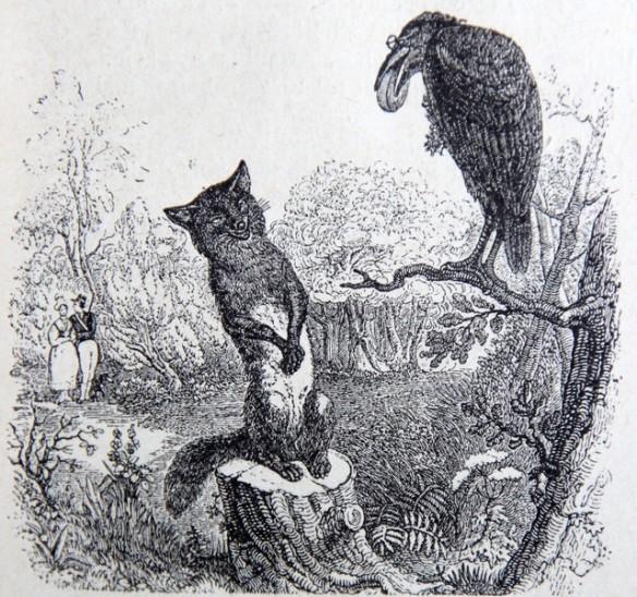 le renard communique mieux que le corbeau