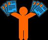 recherche d'emploi CV à distribuer