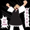 Démission Départ Au revoir Adieu