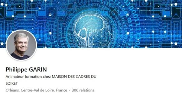 profil linkedin de Philippe Garin