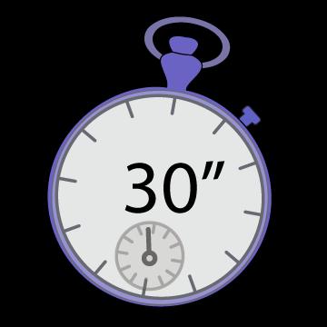 30 secondes chrono