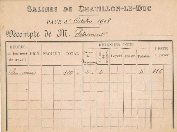 bulletin de salaire 1908