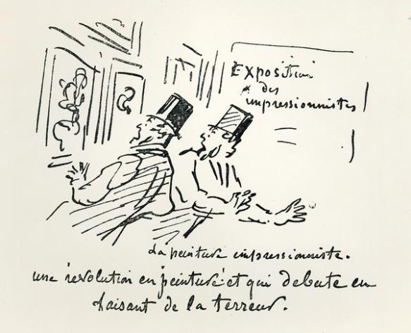 première exposition impressionniste