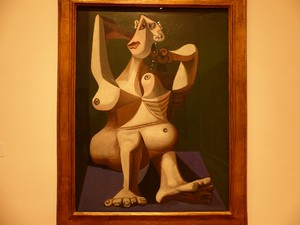 Tableau de Pablo Picasso au MOMA de New-York