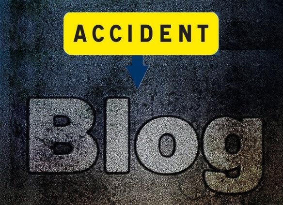 d'un accident vers un blog