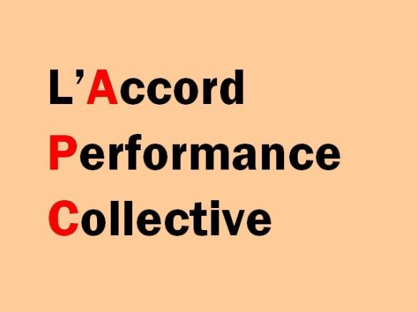 apc accord de performance collective