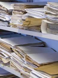 archives sur papier