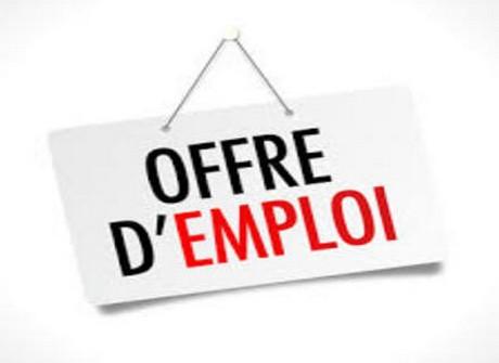 panneau offre d'emploi