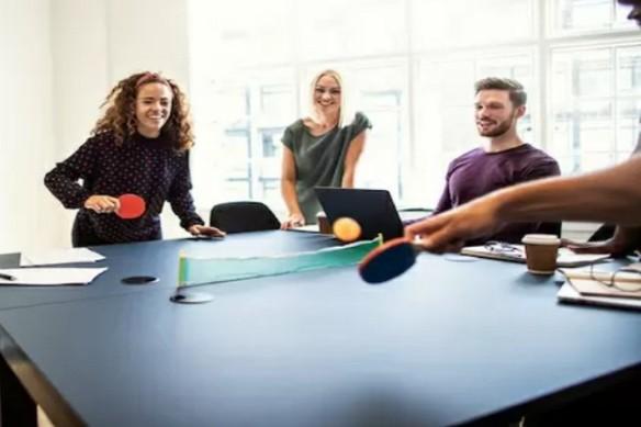 tennis de table au travail