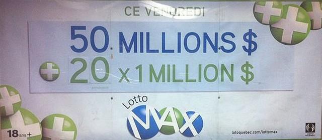 affiche lotto au québec