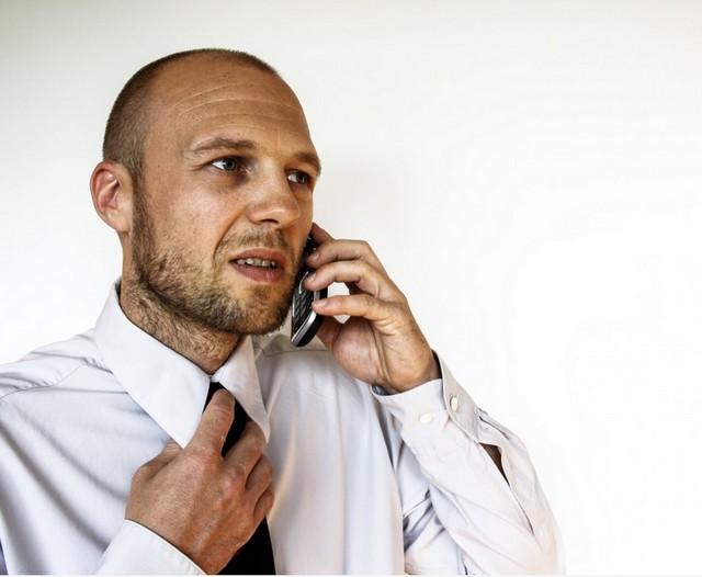 premier contact téléphonique avec un recruteur