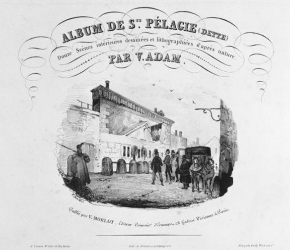 Sainte Pélagie Prison pour dettes